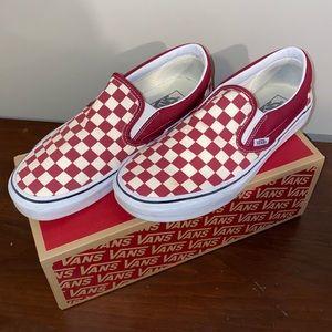Vans/Checkerboard Slip-On/9.5M,11W
